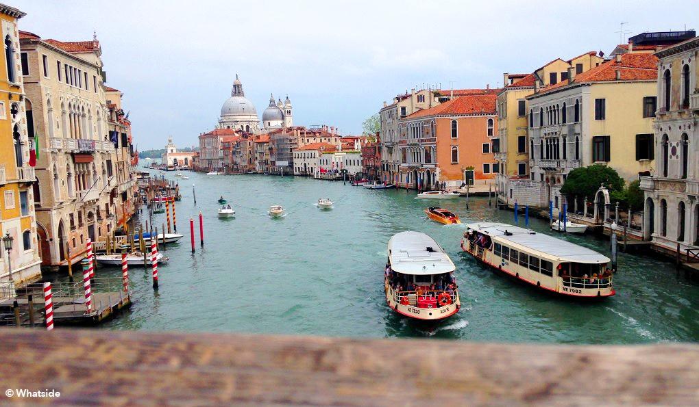 Vue Venise vaporetto