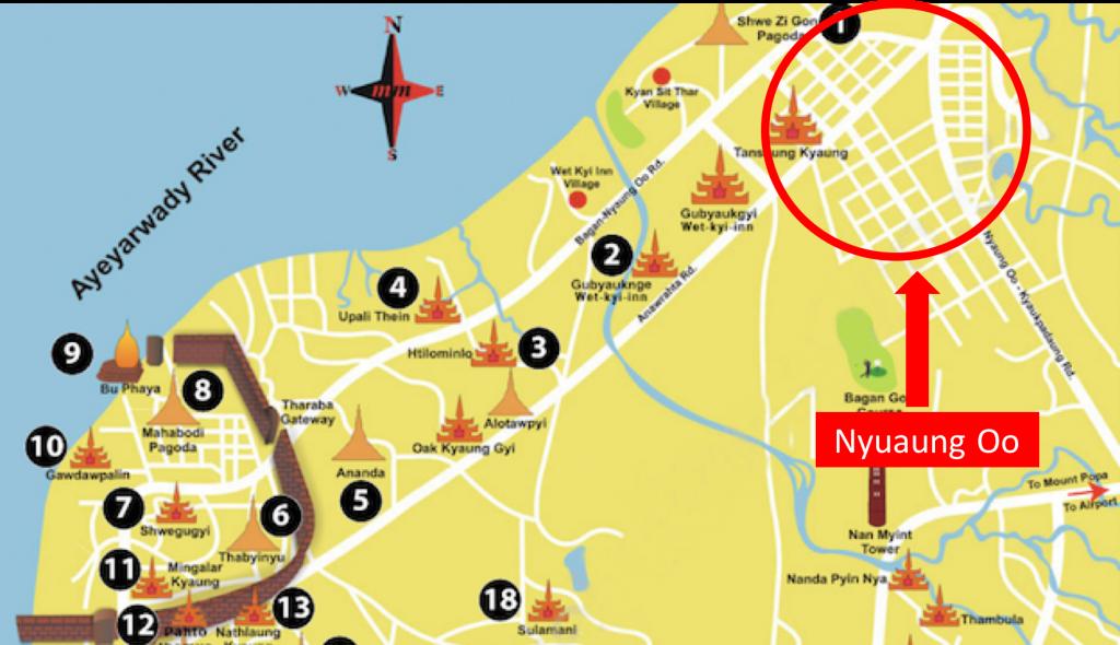 NYAUGOO MAP