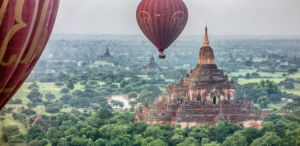 bagan montgolfiere