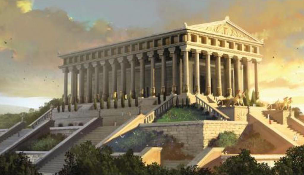 Temple d'Artemis 7 merveilles monde