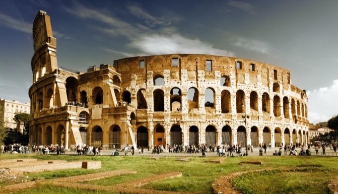 Colisée Rome 7 merveilles monde
