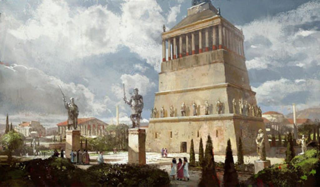 Tombeau Mausole 7 merveilles monde