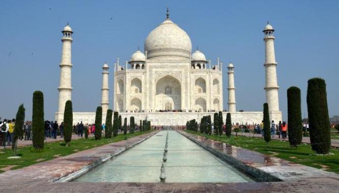 Taj Mahal 7 merveilles monde