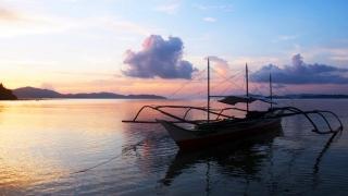 coucher de soleil plage port barton