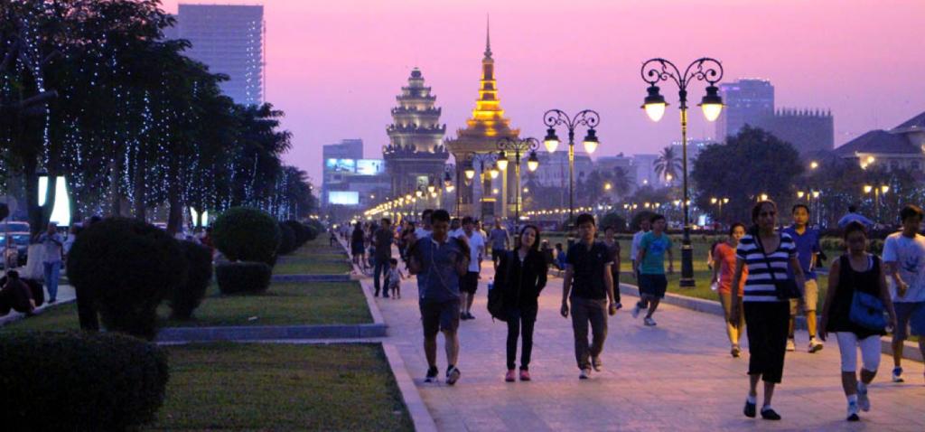 Quais de Phnom Penh