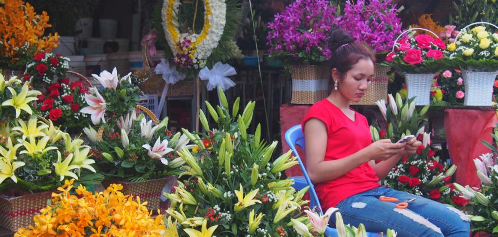 Marché cenral Phnom Penh
