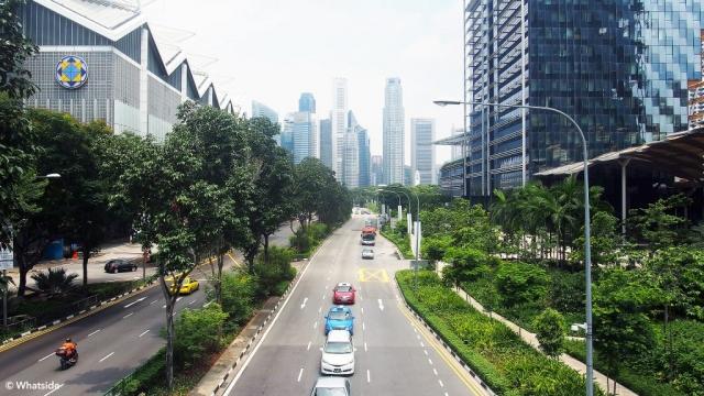 Dans la ville - Singapour