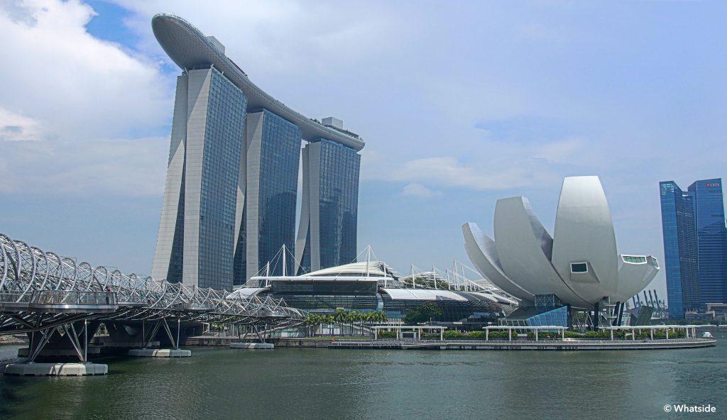 Marina bay sand - Singapour
