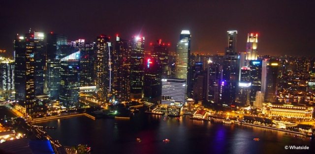 By night - Singapour