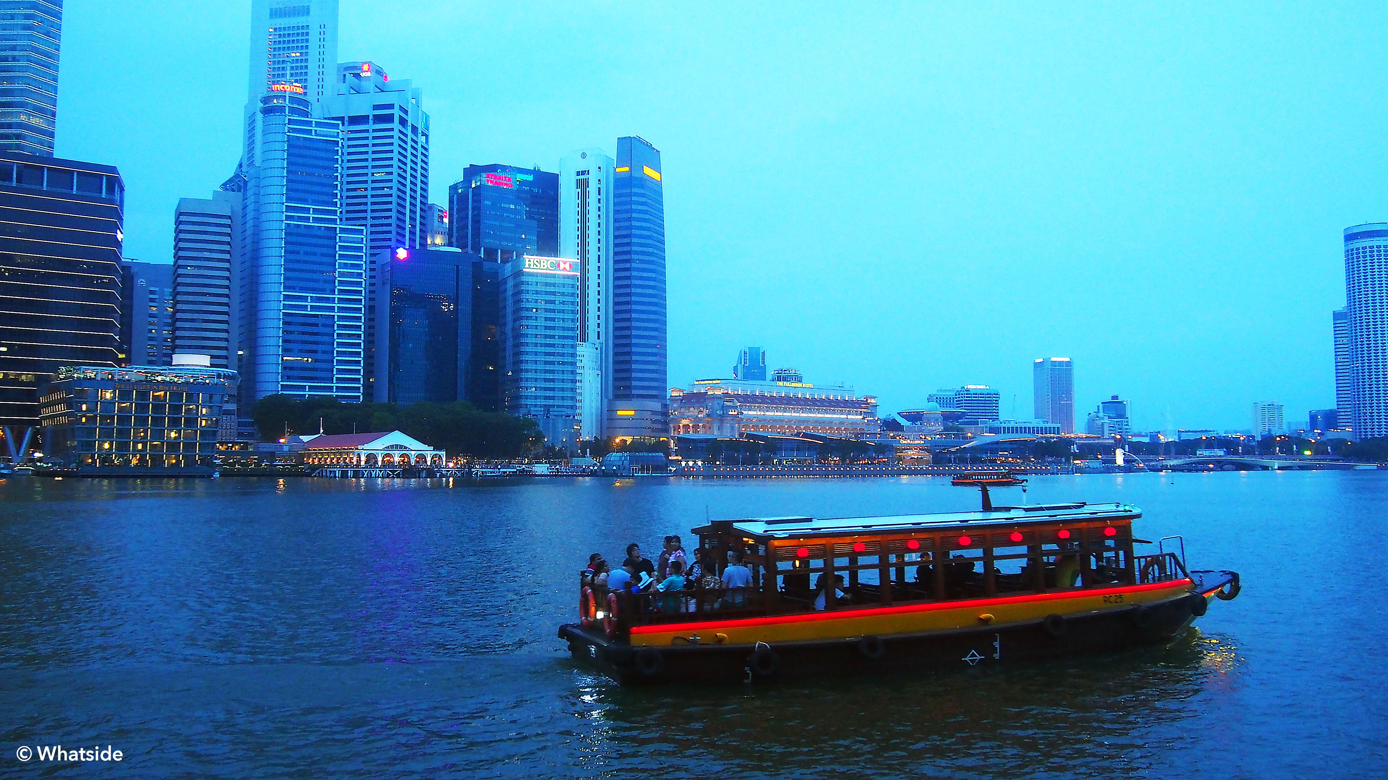 Sur la marina - Singapour