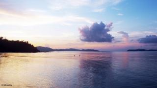 Coucher de soleil - Port Barton