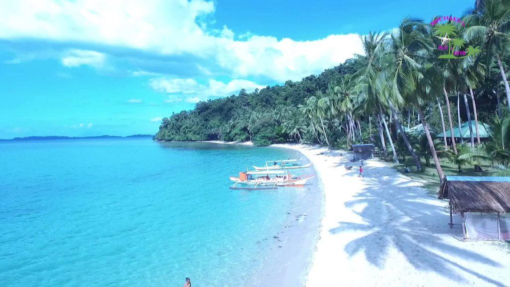 white beach philippines port barton