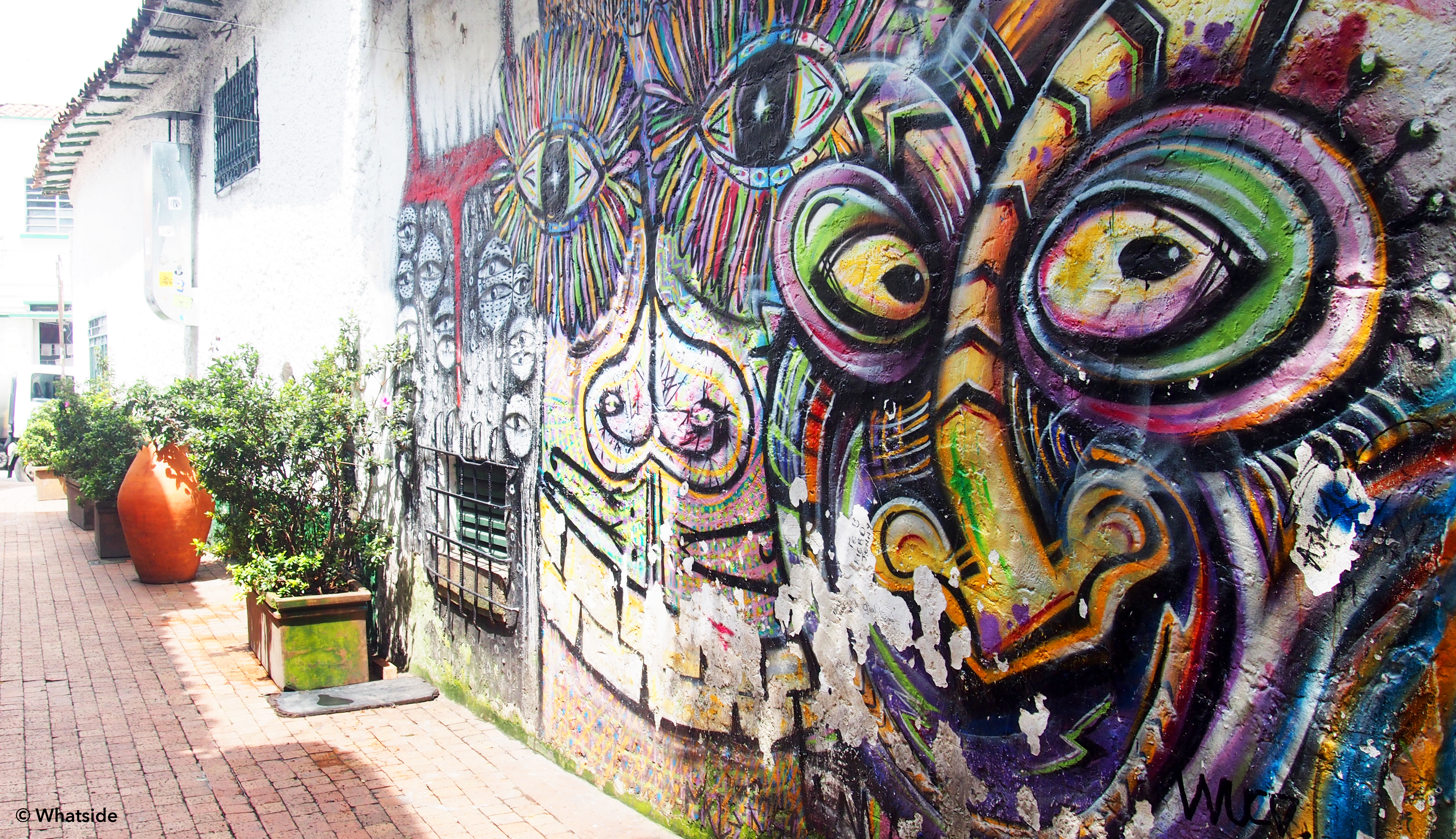 Les graffitis de Bogota
