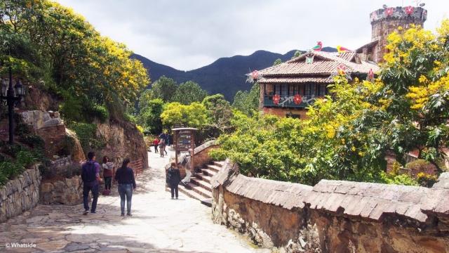 En haut du Montserrate