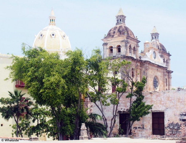 La vieille ville de Carthagènes