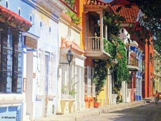 Dans les rues de Carthagènes