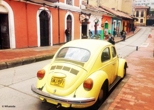 Les rues de Bogota