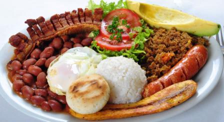 plat typique colombien