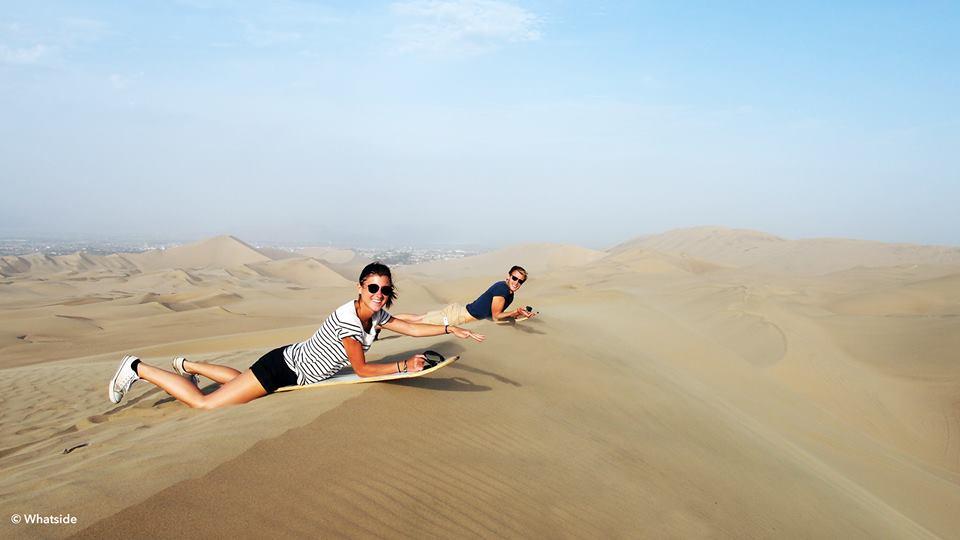 Ica - sandboard Huacachina dunes