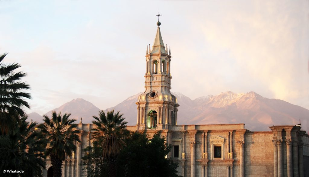 Arequipa - Cathédrale Notre Dame d'Arequipa