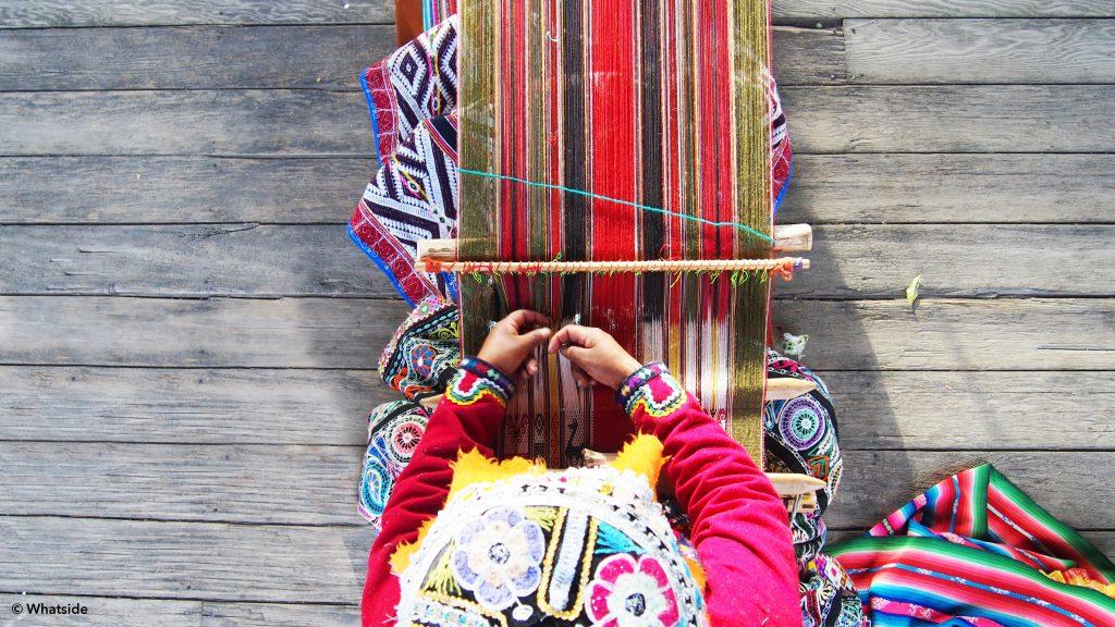 Arequipa - tisseuse de laine