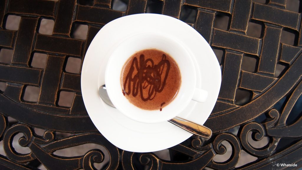 expresso chocolat Para Ti Sucre Bolivie