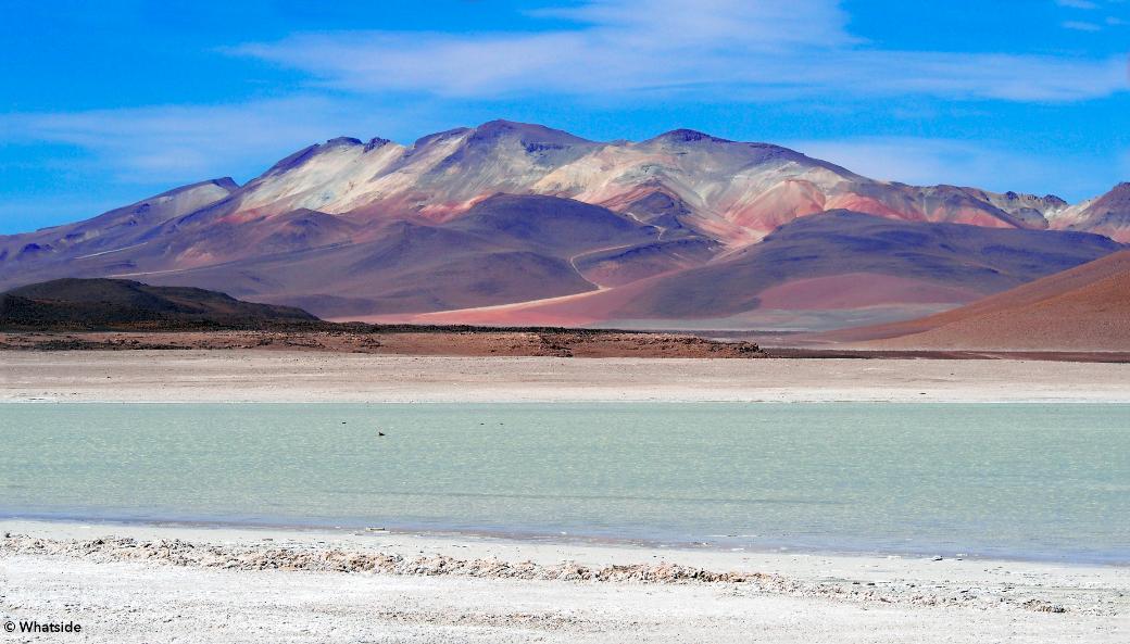 La Laguna Blanco du Sud Lipez