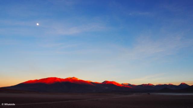 Lever de soleil sur le Sud Lipez