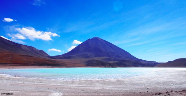 La Laguna Verde dans le Sud Lipez de la Bolivie