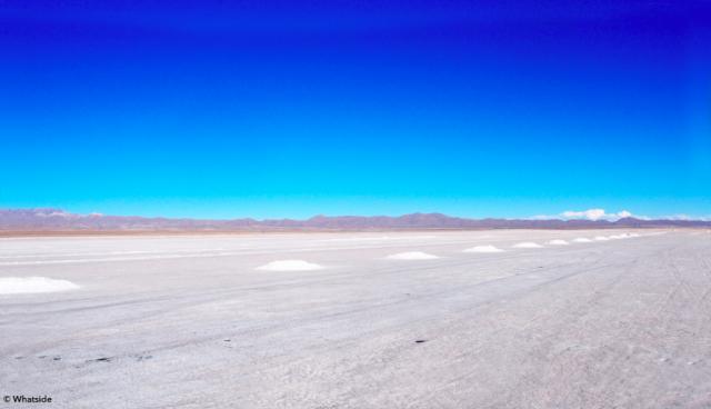 L'entrée du Salar de Uyuni Bolivie