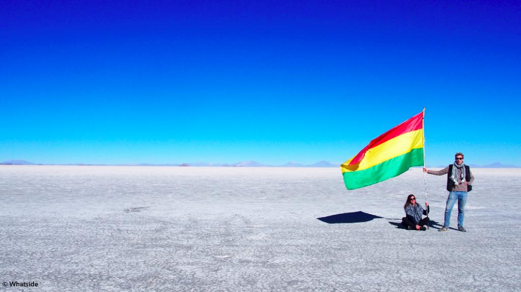 Salar de Uyuni - désert de sel
