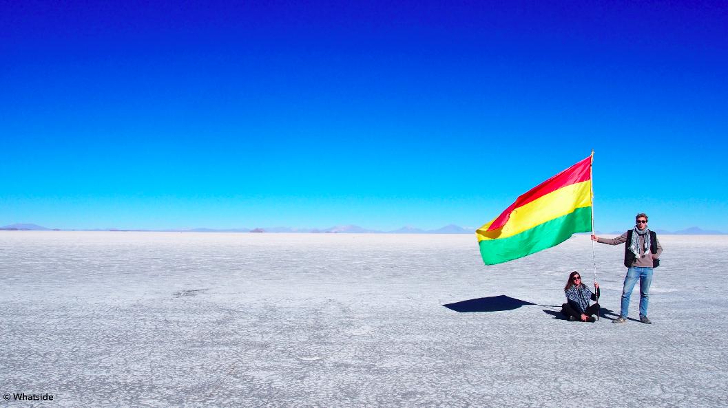 Le Salar de Uyuni Bolivie