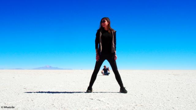 Le désert de sel, le Salar de Uyuni