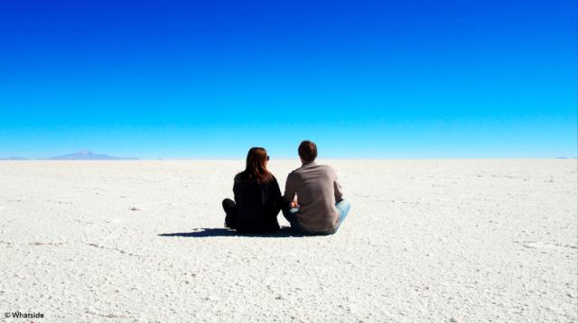 Le Salar de Uyuni en Bolivie