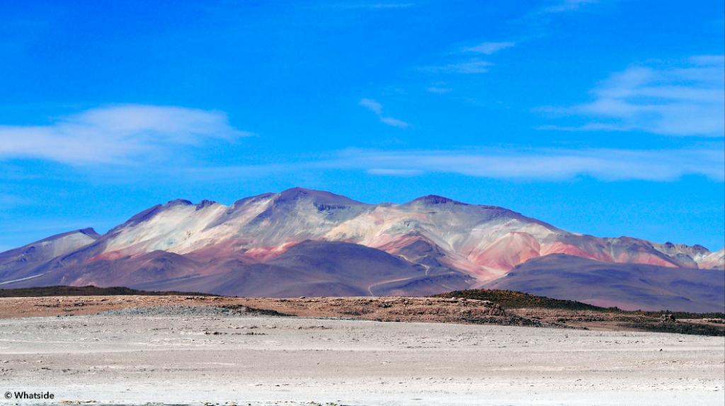 Montagnes colorées Salar de Uyuni et sud Lipez