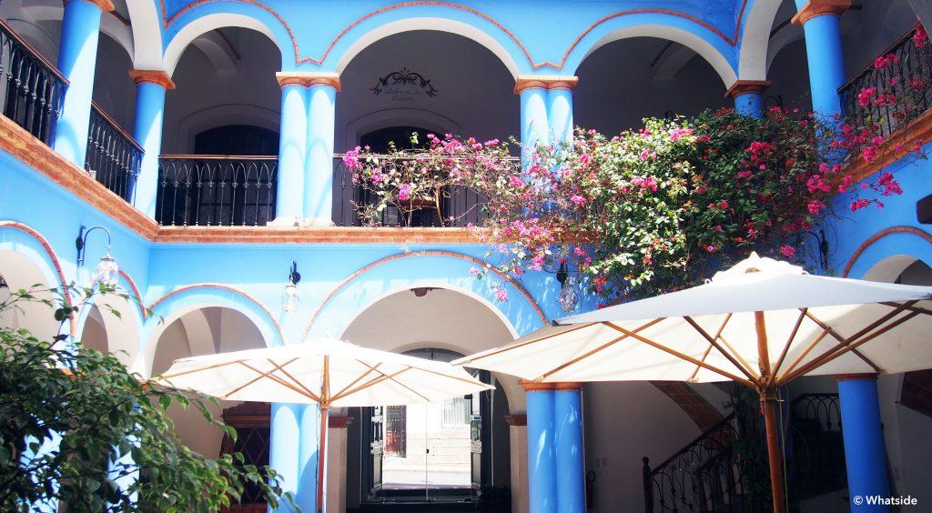 Parador santa maria la real hôtel sucre bolivie