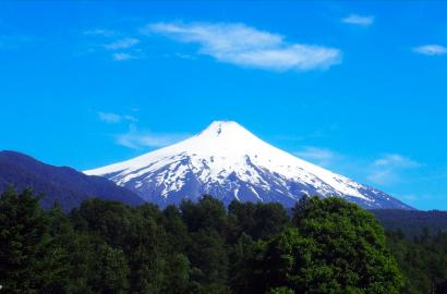 Ascension volcan villarrica Pucon Chili