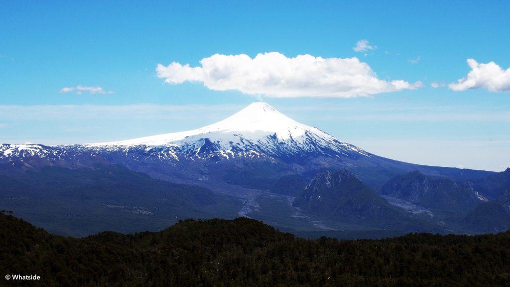 Volcan Villarrica Pucon Chili