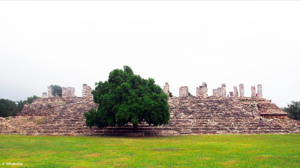 Aké site ruines maya yucatan