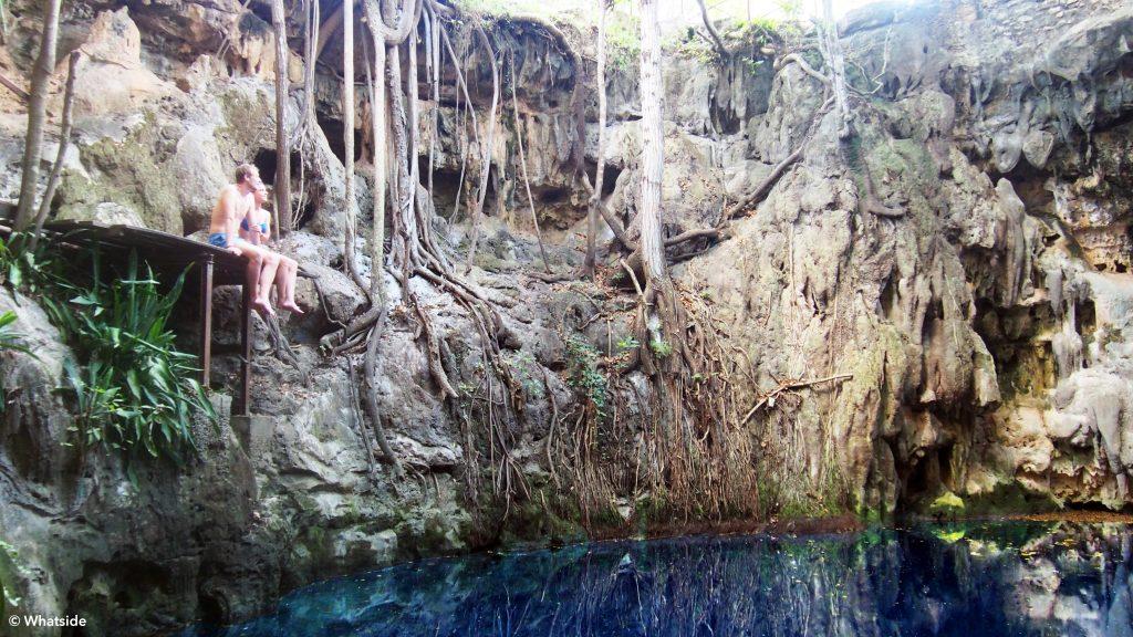 cenote peba merida yucatan