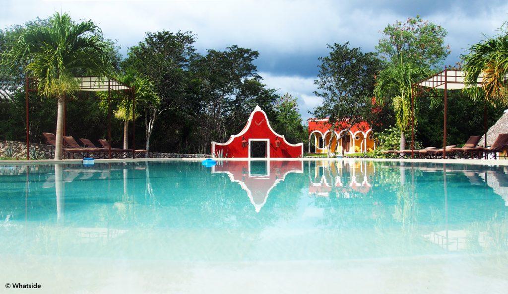 Piscine hacienda Ticum Yucatan
