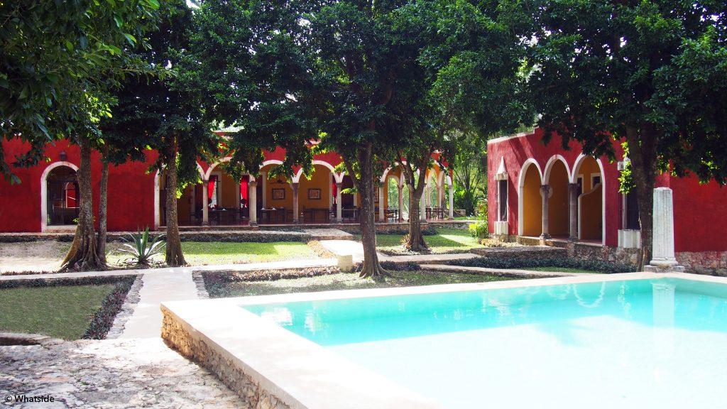 Restaurant hacienda Ticum Yucatan