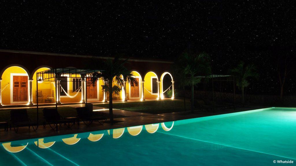 Ticum hacienda yucatan nuit merida