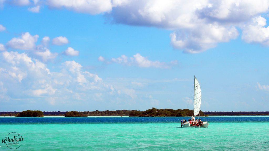 bacalar sailing lagune