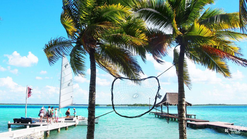 lagune de bacalar catamaran casa tortuga