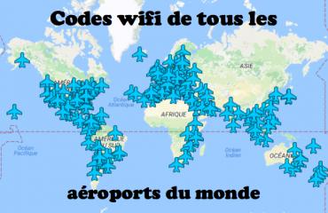 codes wifi de tous les aéroports du monde