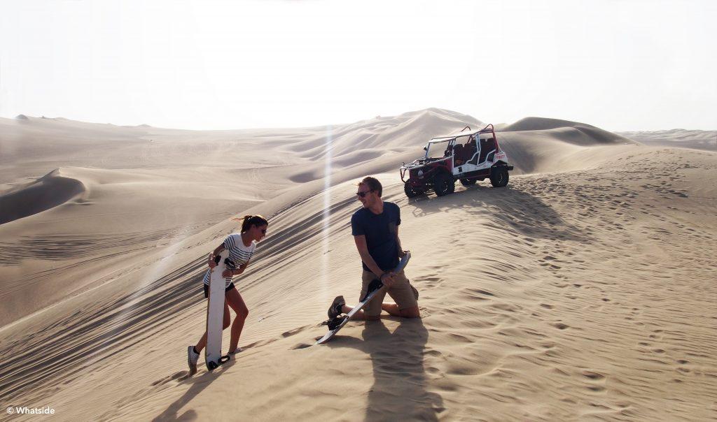 désert de huacachina pérou